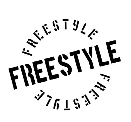 stylishly: Freestyle rubber stamp. Grunge design with dust scratches. Effects can be easily removed for a clean, crisp look. Color is easily changed.