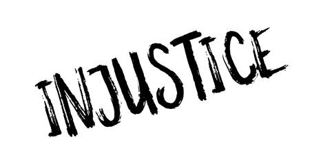 Injustice rubber stamp
