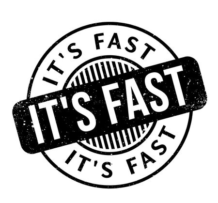It is Fast rubber stamp