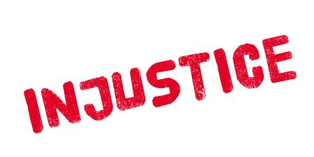 discriminate: Injustice rubber stamp