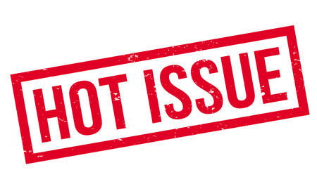 headliner: Hot Issue rubber stamp