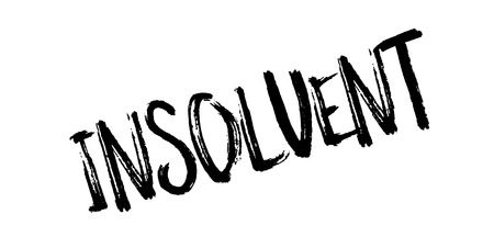insolvent: Insolvent rubber stamp
