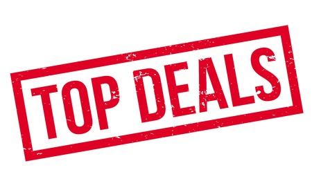 Top Deals rubber stamp