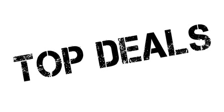culminating: Top Deals rubber stamp