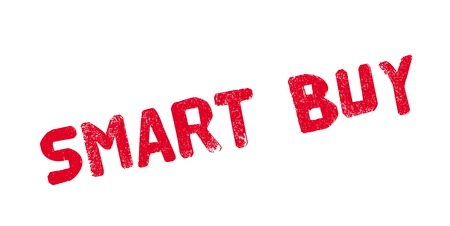 Smart Buy rubber stamp