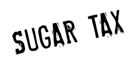 Sugar Tax rubber stamp