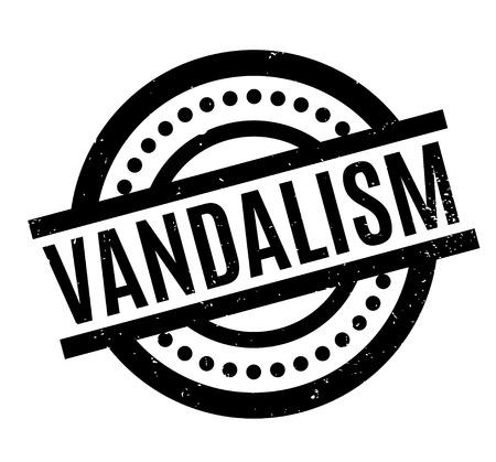 old people: Vandalism rubber stamp
