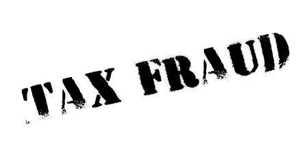 extortion: Tax Fraud rubber stamp