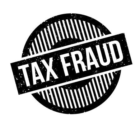 levy: Tax Fraud rubber stamp grunge design