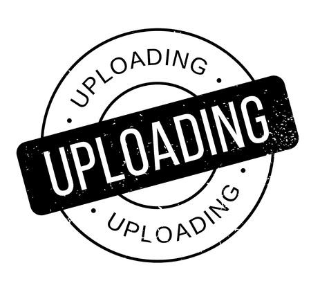 uploading: Uploading rubber stamp