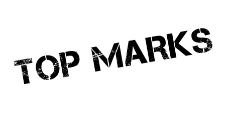 marvelous: Top Marks rubber stamp