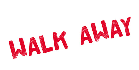 controversy: Walk Away rubber stamp