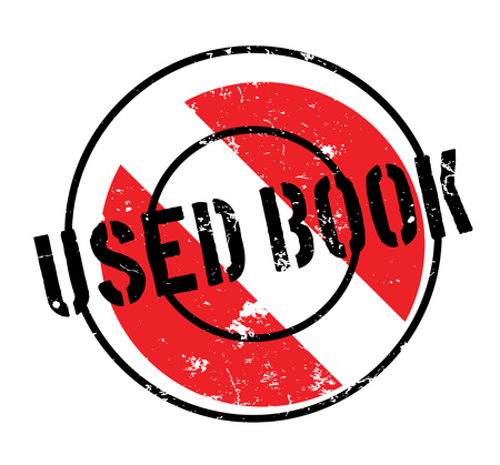 Used Book rubber stamp