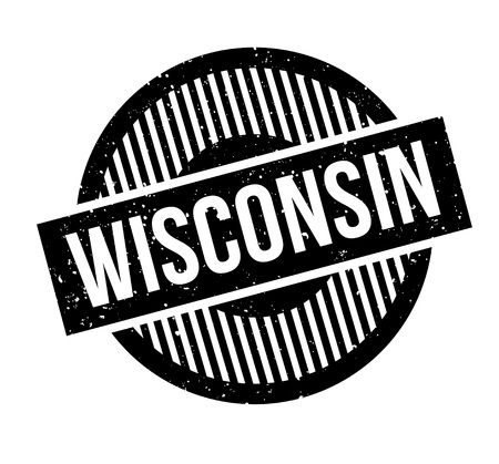postmark: Wisconsin rubber stamp