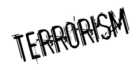 convulsión: Sello de goma del terrorismo