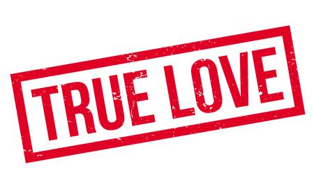 True Love rubber stamp