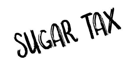 rate: Sugar Tax rubber stamp. Grunge design with dust scratches. Effects can be easily removed for a clean, crisp look. Color is easily changed.