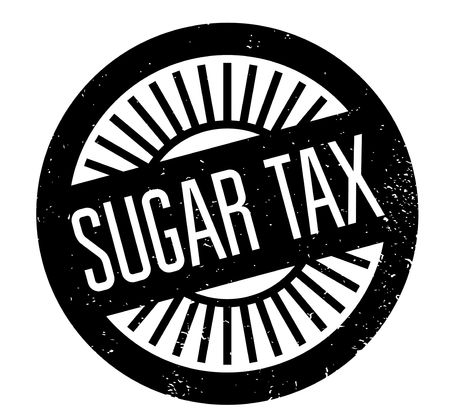 levy: Sugar Tax rubber stamp. Grunge design with dust scratches. Effects can be easily removed for a clean, crisp look. Color is easily changed.