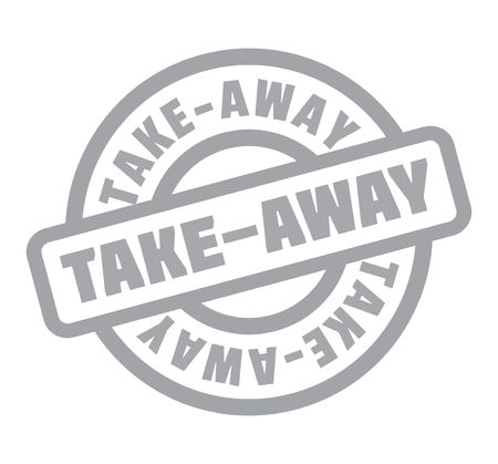 grain: Take-Away rubber stamp