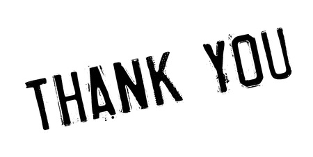 Thank You rubber stamp. Vector illustration.