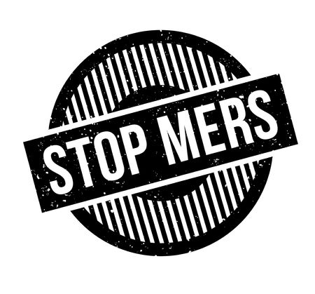 contamination: Stop Mers rubber stamp. Grunge design with dust scratches. Effects can be easily removed for a clean, crisp look. Color is easily changed.