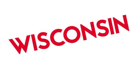 Wisconsin rubber stamp. Vector illustration. Stock Vector - 82426029