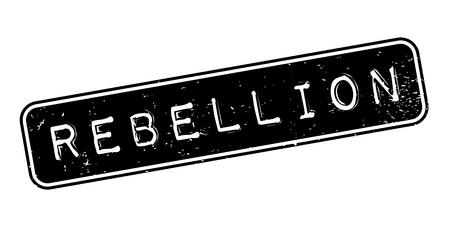 Rebellion rubber stamp Banco de Imagens