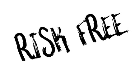Risk Free rubber stamp Stock Photo
