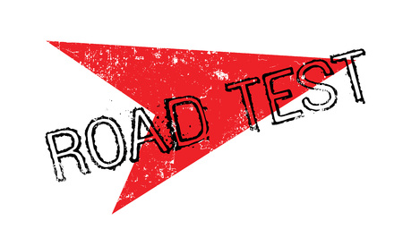 Road Test rubber stamp