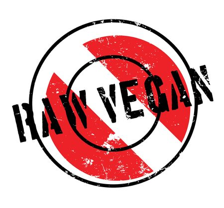 hearty: Raw Vegan rubber stamp