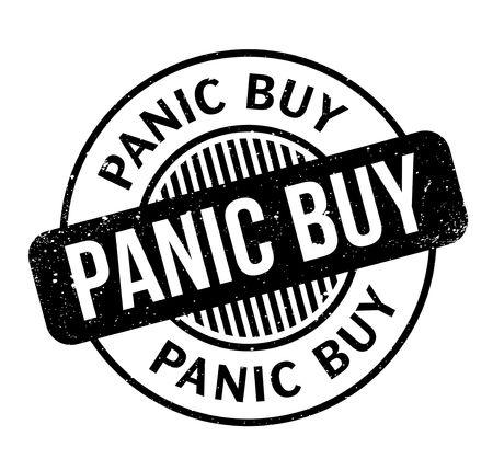 Panic Buy rubber stamp