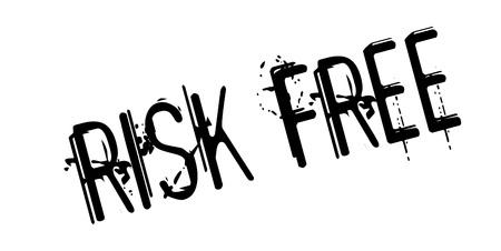 Risk Free rubber stamp Illustration