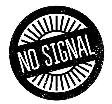 wireless icon: No Signal rubber stamp Stock Photo
