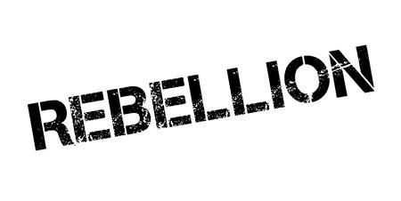 Rebellion rubber stamp Illustration