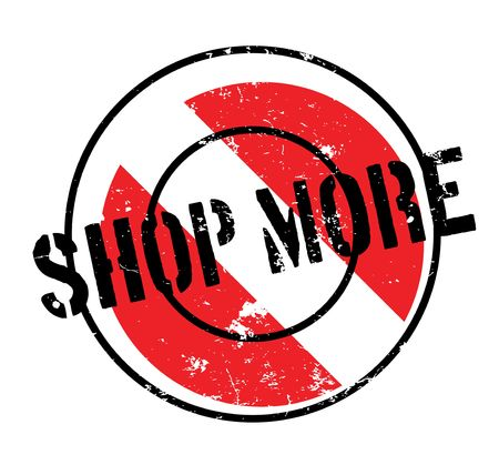 storehouse: Shop More rubber stamp