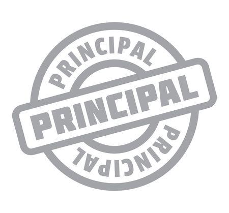 Principal rubber stamp