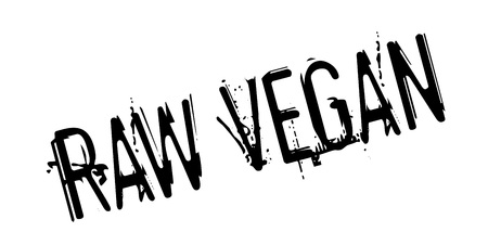 Raw Vegan rubber stamp