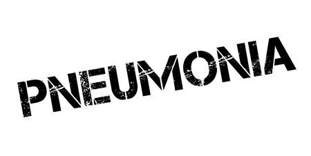 be: Pneumonia rubber stamp. Grunge design with dust scratches. Effects can be easily removed for a clean, crisp look. Color is easily changed. Illustration