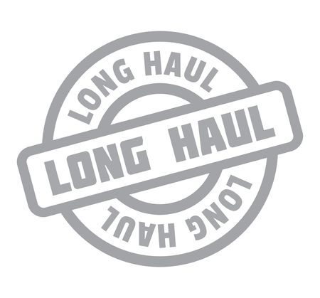 haul: Long Haul rubber stamp