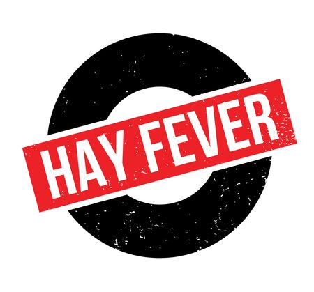itchy: Hay Fever rubber stamp