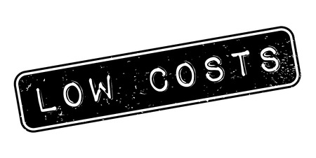 Low Costs rubber stamp Vektoros illusztráció