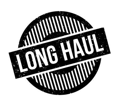hard: Long Haul rubber stamp