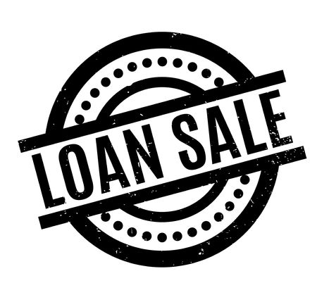 Loan Sale rubber stamp