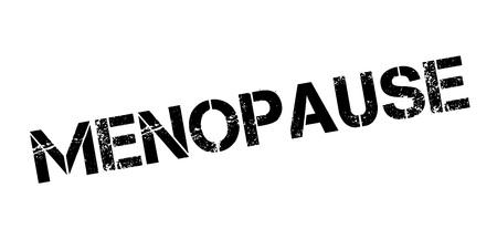 Menopause rubber stamp Illustration