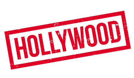 Hollywood rubber stamp Illustration