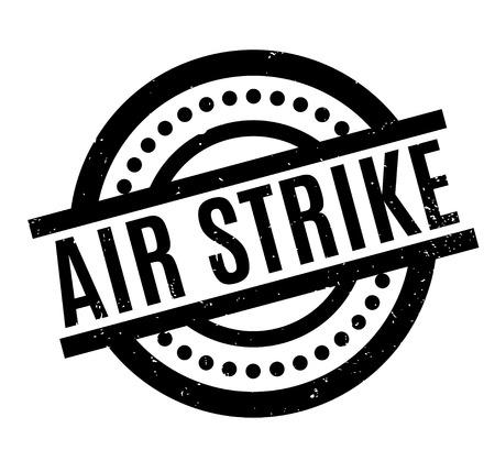 Air Strike rubber stamp
