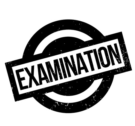 Examination rubber stamp Векторная Иллюстрация