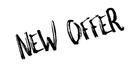 New Offer rubber stamp