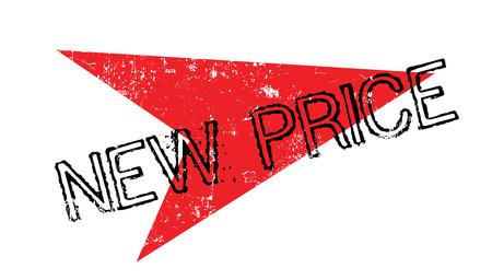 New Price rubber stamp Illustration
