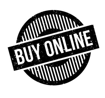 website header: Buy Online rubber stamp